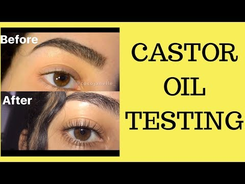 Castor Oil for Hair Growth // eyelashes & eyebrows