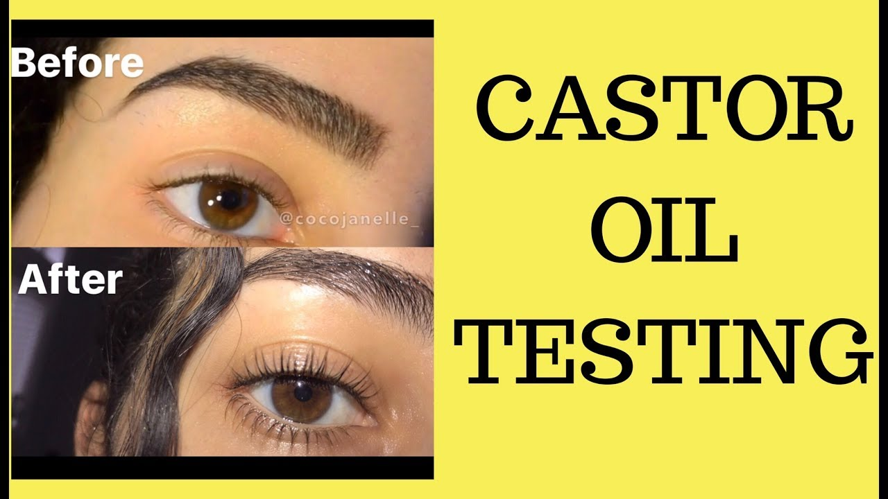 Castor Oil For Hair Growth Eyelashes Eyebrows Youtube