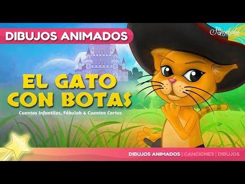 EL GATO CON BOTAS - canciones y cuentos infantiles en Español
