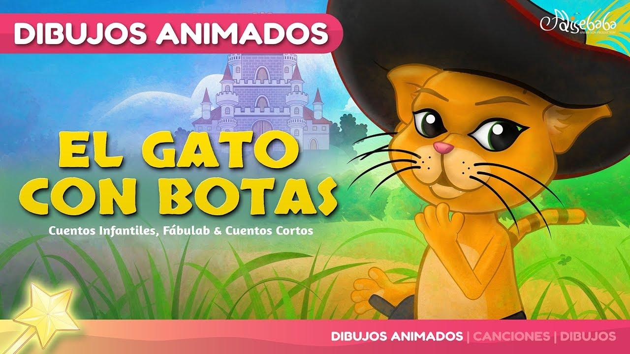 El Gato Con Botas Canciones Y Cuentos Infantiles En Español