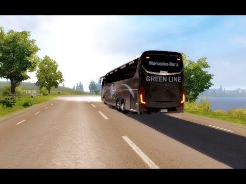 ETS2 Bangladeshi Buses : Irizar I8 gameplay. Journey to The Scandinavia.