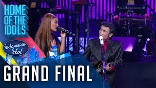 Download lagu NOVIA X RHOMA IRAMA - KERINDUAN - GRAND FINAL - Indonesian Idol 2020