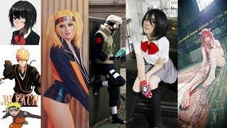 Personajes de anime en la vida real | Mejores cosplays de anime | Naruto Bleach Another y mas...
