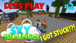 Sky Bounds Lets Play 2 - We Go To The Warzone And I Got Stuck!?!