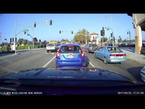 Part 5 San Francisco to Santa Cruz via Hwy 1 A119S  V2 with GPS dashcam time lapse