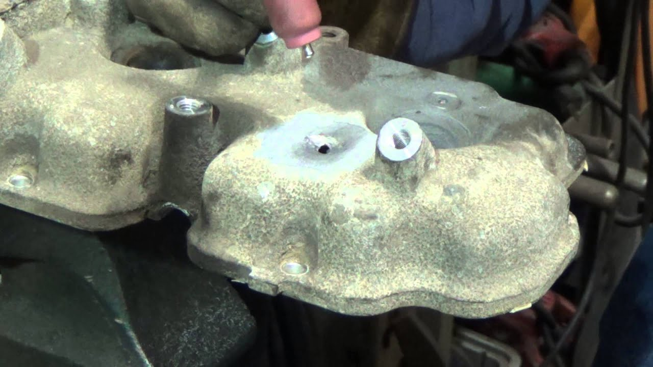 how to clean oxidized aluminum engine parts