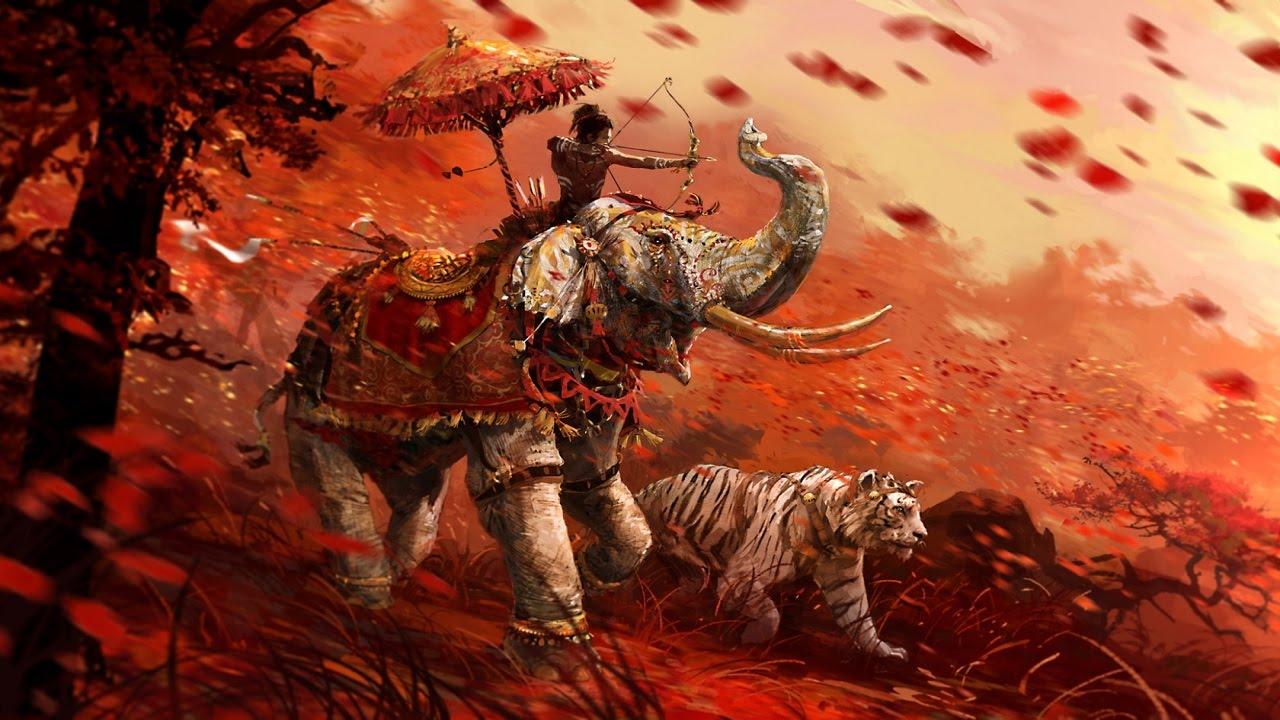 охота на белого тигра