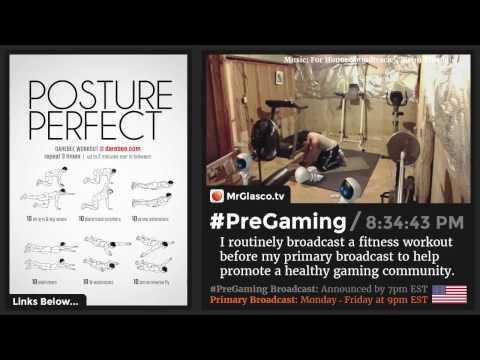 #PreGaming: DAREBEE Posture Perfect Workout 💪