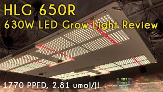 Horticulture Lighting Group HLG 650R LED Grow Light Review