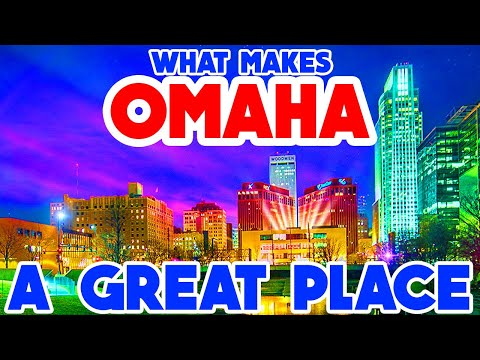 OMAHA, NEBRASKA - The TOP 10 Places you NEED to see!