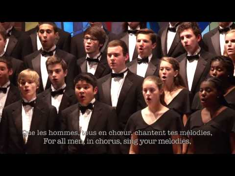 Musique by Sydney Guillaume | Robinson Singers & Select Women's Ensemble (World Premiere)