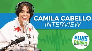 Camila Cabello on Mastering the Guitar and Not Getting Picked For Choir | Elvis Duran Show