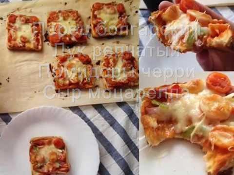 ленивая пицца из хлеба рецепт