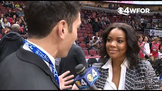 WEB EXTRA: Gabrielle Union Discusses Husband Dwyane Wade's One Last Dance Tour & His Final Game In H