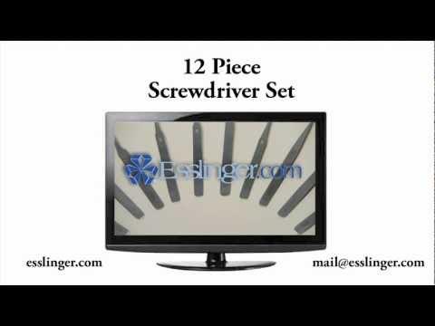Jewelry and Watch Tools - 12 Piece Tweezers Set