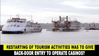 Motive behind starting tourism in Goa was to give Back-Door entry to operate casinos?
