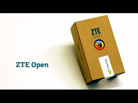 MOVISTAR - ZTE Open Unboxing
