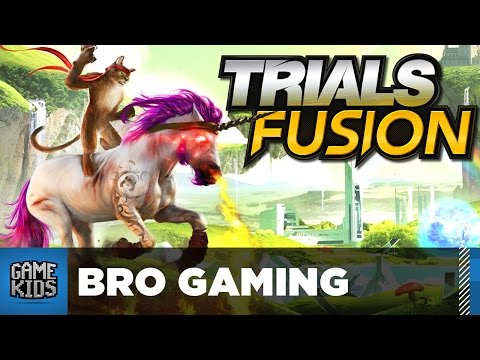 Trials Fusion With Parents Part 1 - Bro Gaming