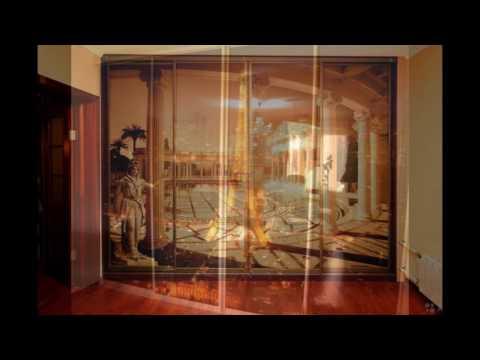 Шкаф купе стекло с рисунком