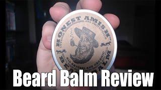 Honest Amish Beard Balm - Beard Style Review