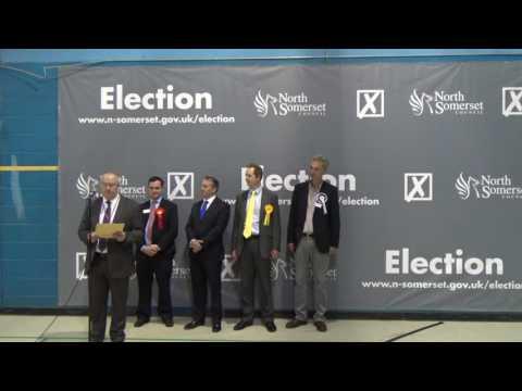 Somerset North General Election Declaration