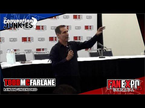 Todd McFarlane: Raw & Uncensored (Spawn, Venom, Toys) Fan Expo 2019 Q&A Panel