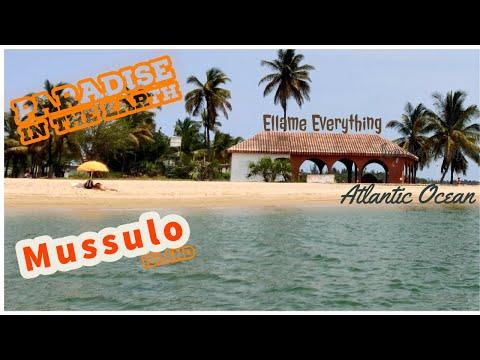 Mussulo Island Beach | Inside Atlantic ocean | Ilha do Mussulo | Luanda, Angola