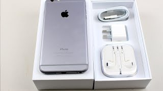 iPhone 6 Plus Unboxing - 128gig Space Grey Edition
