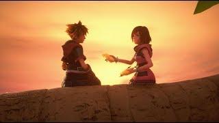 Kingdom Hearts III: Sora Shares A Paopu Fruit With Kairi