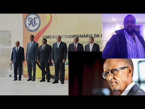TLV 17/01/19 LA SADC ET LES CHEFS D'ETATS AFRICAINS CONTRE OU POUR MARTIN FAYULU ?KABILA TJRS ACTIF?
