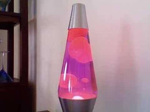 Groovy Purple Lava Lamp