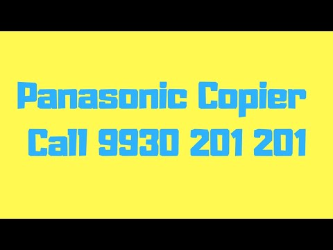 Panasonic DP MB536 & DP MB545 Digital A3 Photocopier Call Hi Tech Enterprises 9930201201