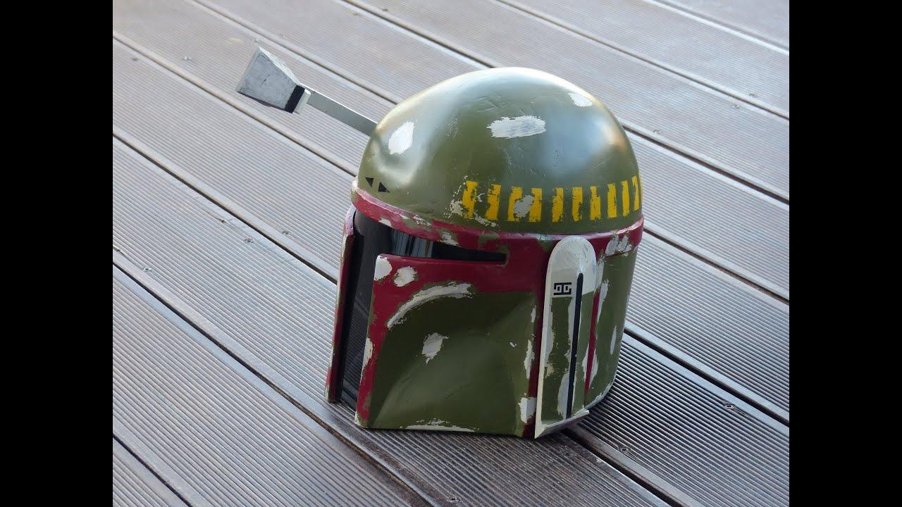 star wars making boba fett helmet selber bauen pepakura pepacraft 66target youtube. Black Bedroom Furniture Sets. Home Design Ideas