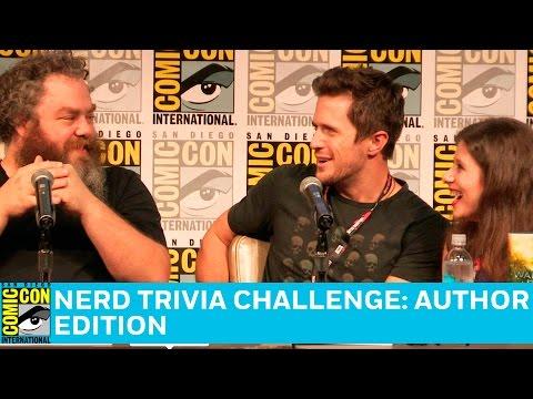 Nerd Trivia Challenge: Author Edition Full Panel   San Diego Comic-Con 2016