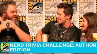 Nerd Trivia Challenge: Author Edition Full Panel | San Diego Comic-Con 2016