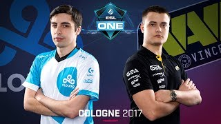 CS:GO - Cloud9 vs. Na'Vi [Train] - Swiss Round 2 - ESL One Cologne 2017
