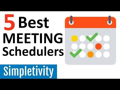 5 Best Meeting Scheduler Apps (Calendar Assistant Tools)