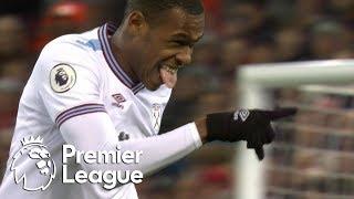 Issa Diop equalizes for West Ham against Liverpool | Premier League | NBC Sports