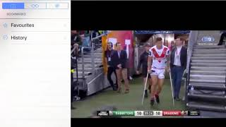 Dragons VS Rabbitohs 2018 Quarter Finals