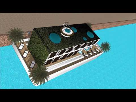 Incredible floating home design architecture in Venice ITALY eco Houseboat casa galleggiantes as a s