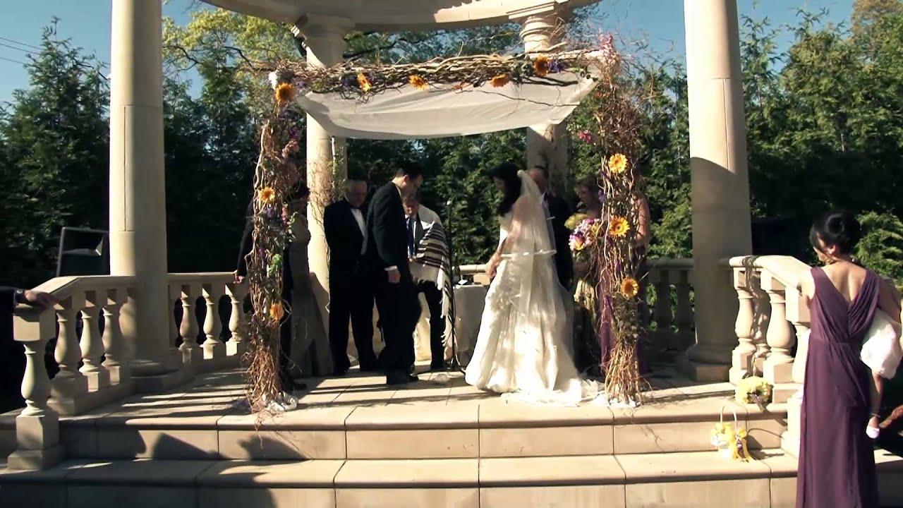 rockleigh country club wedding trailer