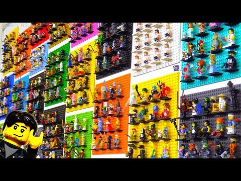 The first 25 LEGO Collectible Minifigure series -- 400+ figures!