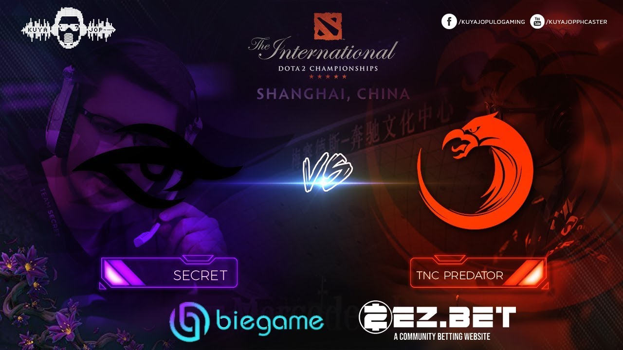 TNC Predator vs Secret Game 1 | Group Stage | The