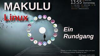 Makulu Linux - Ein kleiner Rundgang