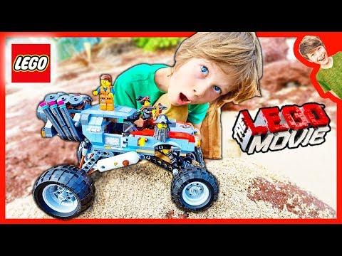 LEGO MOVIE MONSTER TRUCK STORE!