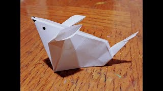 How to make a paper mouse ll Origami paper mouse ll Paper craft