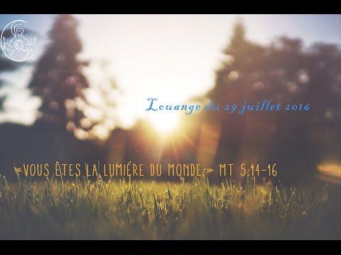 Replay Paray Louange du 29 juillet 2016