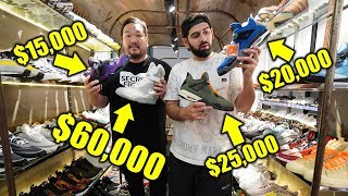 BIGBOYCHENG SHOWS HIS CRAZY EXPENSIVE SNEAKER COLLECTION!! *MUST SEE*