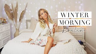WINTER MORNING ROUTINE ❄️ Healthy & Productive for School/Work