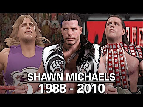WWE 2K17: The Evolution of Shawn Michaels (1988 - 2010)